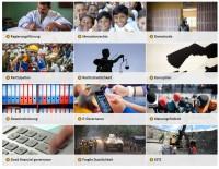 Screenshot BMZ-Themenseite zu Good Governance. Quelle: bmz.de