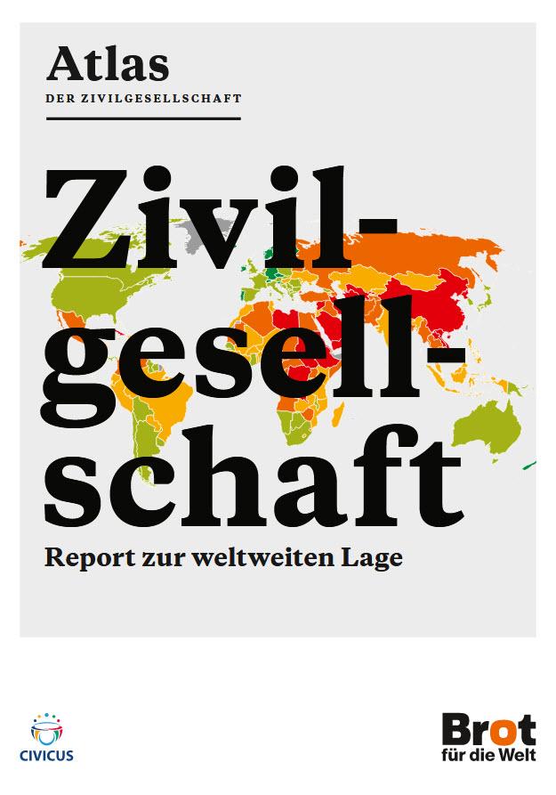 """Titelseite """"Atlas der Zivilgesellschaft"""". Quelle: shop.brot-fuer-die-welt.de"""
