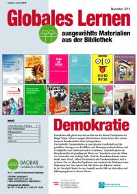 Titelseite der aktuellen Ausgabe zu Demokratie. Quelle: baobab.at