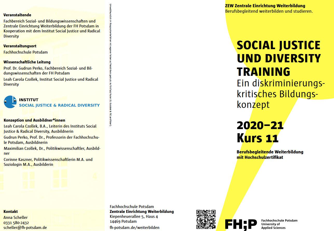 Social Justice und Diversity Training. Quelle: social-justice.eu