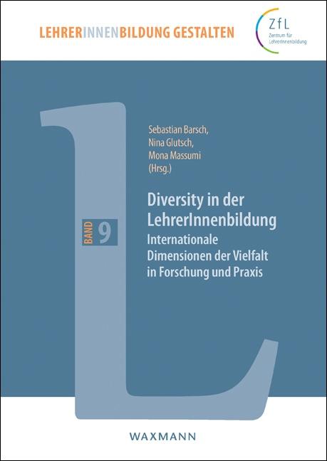 "Cover ""Diversity in der LehrerInnenbildung"". Quelle: waxmann.com"