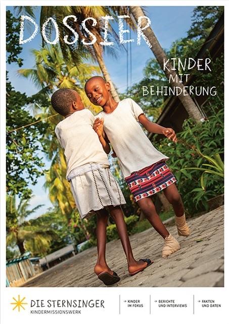 "Cover ""Kinder mit Behinderung"". Quelle: shop.sternsinger.de"