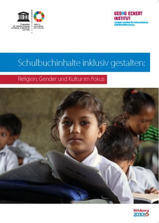"""Cover """"Schulbuchinhalte inklusiv gestalten"""". Quelle: unesco.de"""