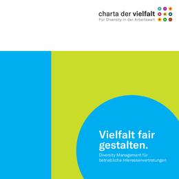"""Cover """"Vielfalt fair gestalten"""". Quelle: charta-der-vielfalt.de"""