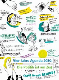 """SDG-Report: """"Vier Jahre Agenda 2030: Die Politik ist am Zug"""". Bildquelle: venro.org"""