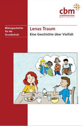 """Cover der Broschüre """"Lenas Traum"""" Quelle: www.cbm.de"""