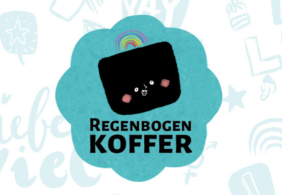 Bild Regenbogenkoffer. Quelle: regenbogenkoffer.de