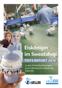 Cover Toys Report 2019. Quelle: CIR