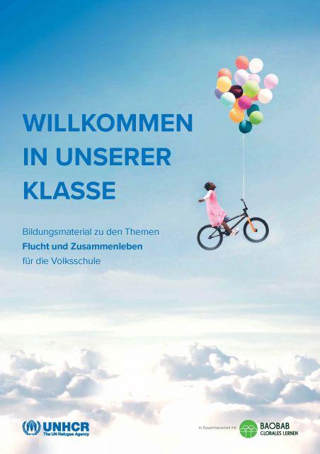 "Cover ""Willkommen in unserer Klasse"". Quelle: baobab.at"