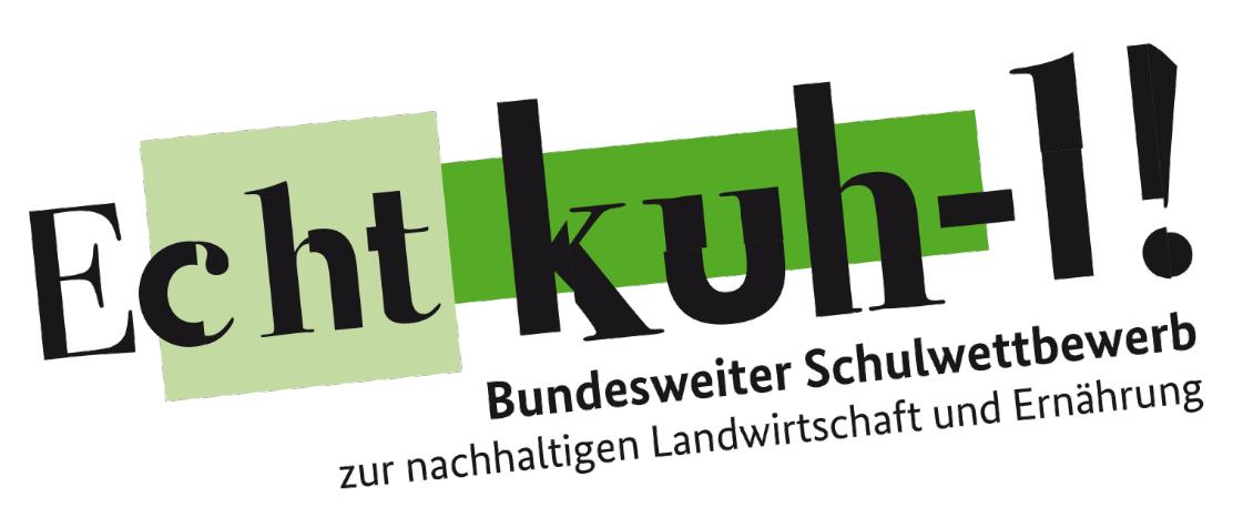 Plakat zum Wettbewerb 2020/2021. Quelle: echtkuh-l.de