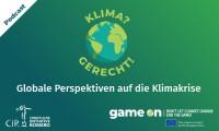 "Cover Podcast ""Klima? Gerecht!"" Quelle: Christliche Initiative Romero (CIR)"