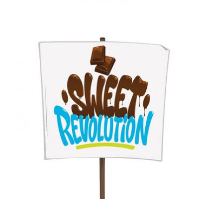 Logo Sweet Revolution. Quelle: TransFair e.V.