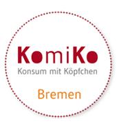 Logo KomiKo - Konsum mit Köpfchen. Quelle: bizme.de