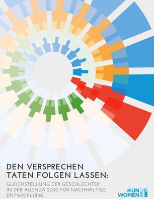 Titelseite des Berichts. Quelle: unwomen.de