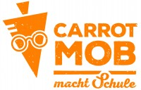 Logo Carrotmob macht Schule. Quelle: BildungsCent e.V.