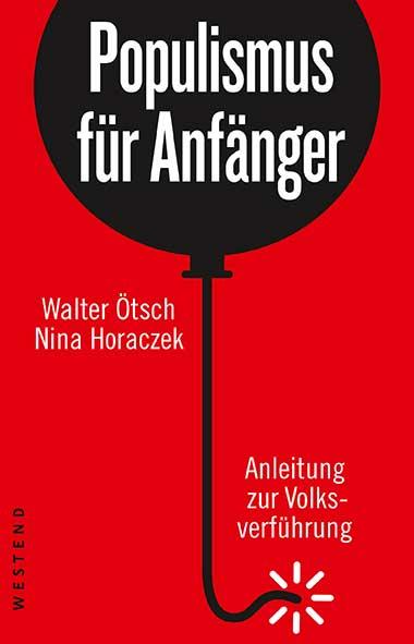 Titelseite Populismus für Anfänger. Quelle: westendverlag.de