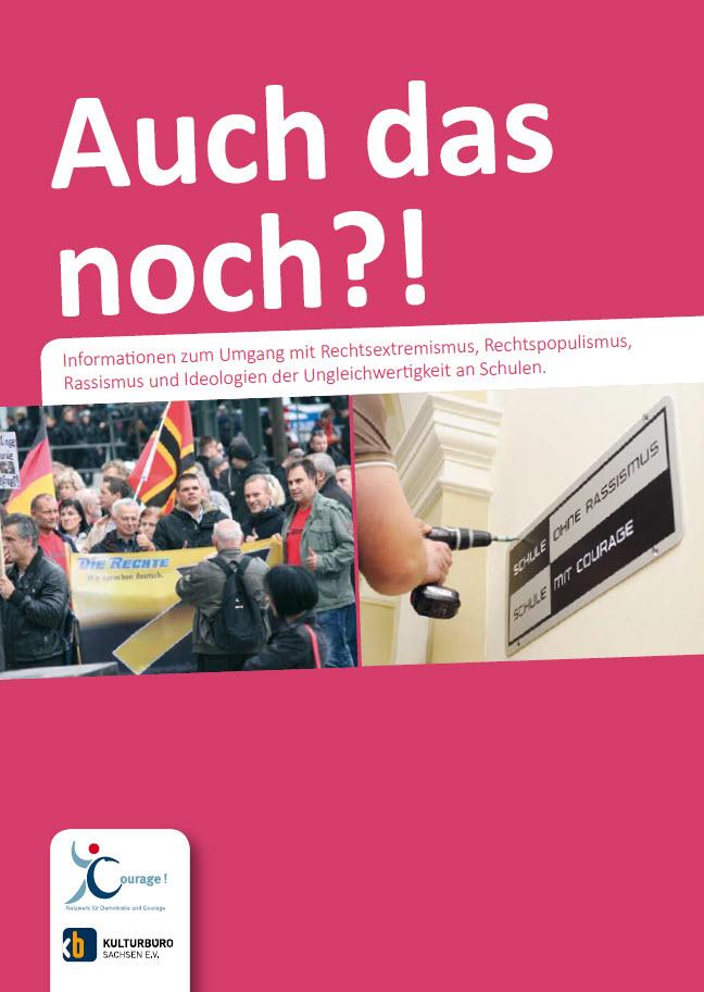 Titelseite Auch das noch. Quelle: netzwerk-courage.de