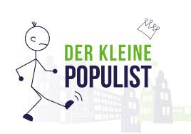 Logo Der kleine Populist. Quelle: bremerjugendring.de
