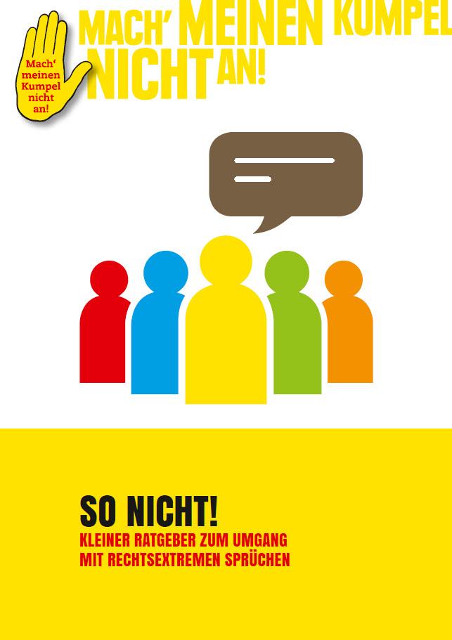 Titelseite So nicht. Quelle: vielfalt-mediathek.de