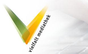 Logo Vielfalt-Mediathek. Quelle: vielfalt-mediathek.de