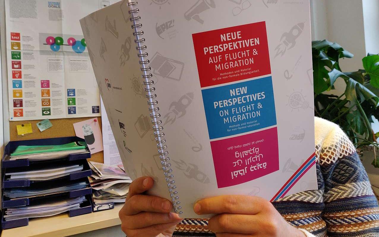 Neue Perspektiven auf Flucht und Migration. Quelle: awointernational.de