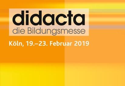 Banner didacta. Quelle: didacta-koeln.de
