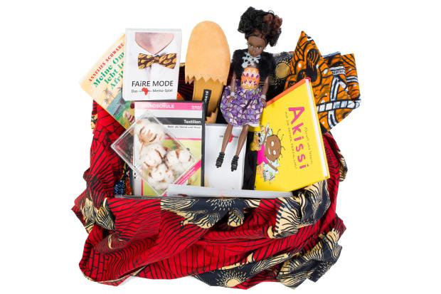 Mode-Koffer für den Unterricht. Quelle: gemeinsam-fuer-afrika.de