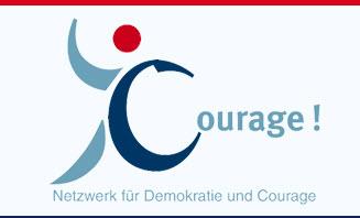 Logo Netzwerk für Demokratie und Courage (NDC), Quelle: http://www.netzwerk-courage.de