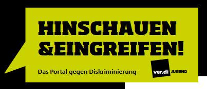 Portal ver.di Jugend Logo. Quelle: aktiv-gegen-diskriminierung.info