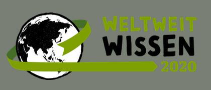 Logo WeltWeitWissen-Kongress 2020. Quelle: weltweitwissen2020.eu