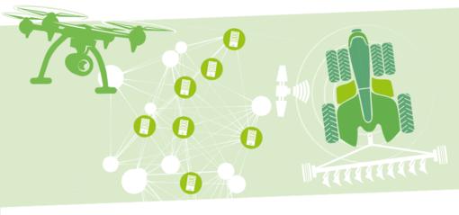 """Digitalisierung in der Landwirtschaft aus der Broschüre """"Blocking the Chain"""". Foto: INKOTA-netzwerk. Quelle: inkota.de"""