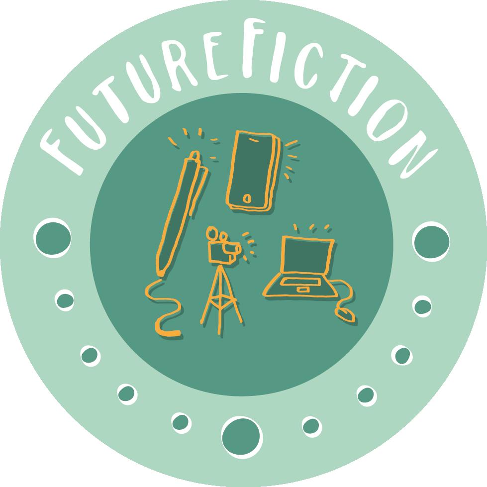 Logo Future Fiction Kreativwettbewerb. Quelle: Future Fiction Kreativwettbewerb