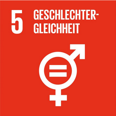 Logo SDG 5. Quelle: 17ziele.de