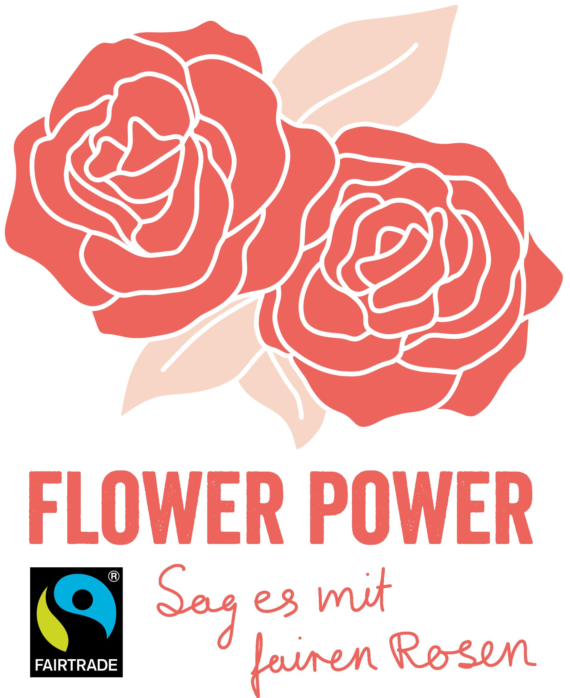 Key Visual der Kampagne Flower Power 2021 (Grafik: @MiraaLou). Quelle: fairtrade-kampagnen.de