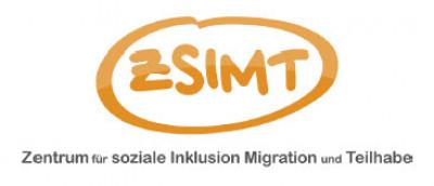 Logo Zentrum für soziale Inklusion, Migration und Teilhabe. Quelle: zsimt.com