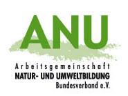 Logo Arbeitsgemeinschaft Natur- und Umweltbildung (ANU). Quelle: umweltbildung.de