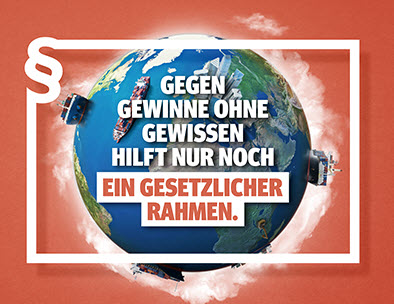 Logo der Initiative Lieferkettengesetz. Quelle: lieferkettengesetz.de