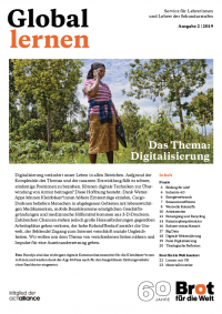 """Titelseite Global Lernen """"Digitalisierung"""". Quelle: brot-fuer-die-welt.de"""