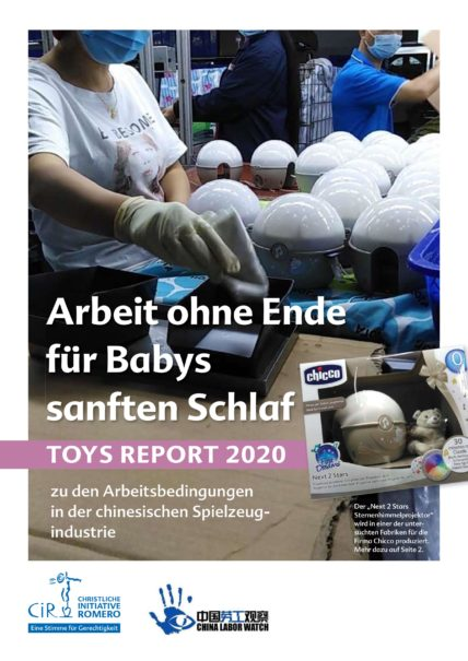 Cover Toys Report 2020. Quelle: CIR