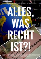 """Alles, was Recht ist: Planspiel zum Thema """"Menschenrechte in der Lieferkette am Beispiel Smartphone"""". Quelle: andershandeln.org"""