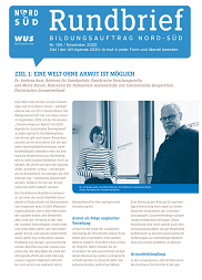 Cover Rundbrief Ausgabe 105. Quelle: WUS