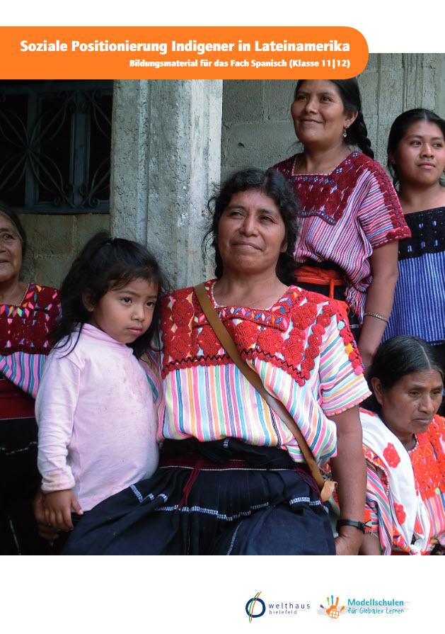 """Titelseite des Materials """"Soziale Positionierung Indigener in Lateinamerika"""". Quelle: schulen-globales-lernen.de"""