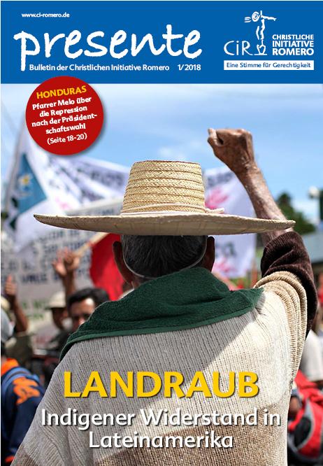 Cover presente Landraub. Quelle: ci-romero.de