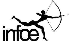 Logo INFOE. Quelle: infoe.de
