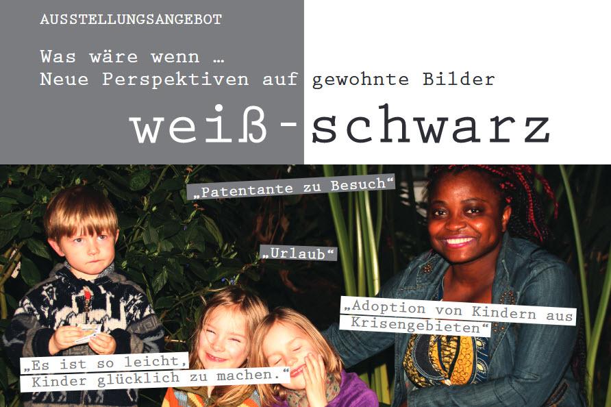 Ausschnitt Flyer zur Ausstellung. Quelle: einewelt-sachsen.de