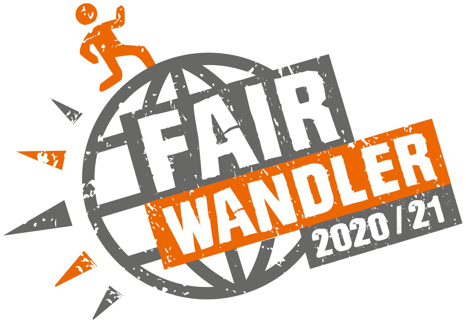 Logo FAIRWANDLER-Preis 2020/21. Quelle: Karl Kübel Stiftung für Kind und Familie