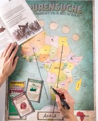 Titelbild Spurensuche Afrika. Quelle: gemeinsam-fuer-afrika.de