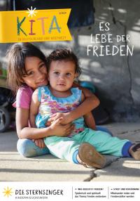 "Titelblatt Material ""Es lebe der Frieden!"". Quelle: shop.sternsinger.de"