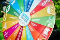 SDG-Glücksrad. Quelle: tatenfuermorgen.de