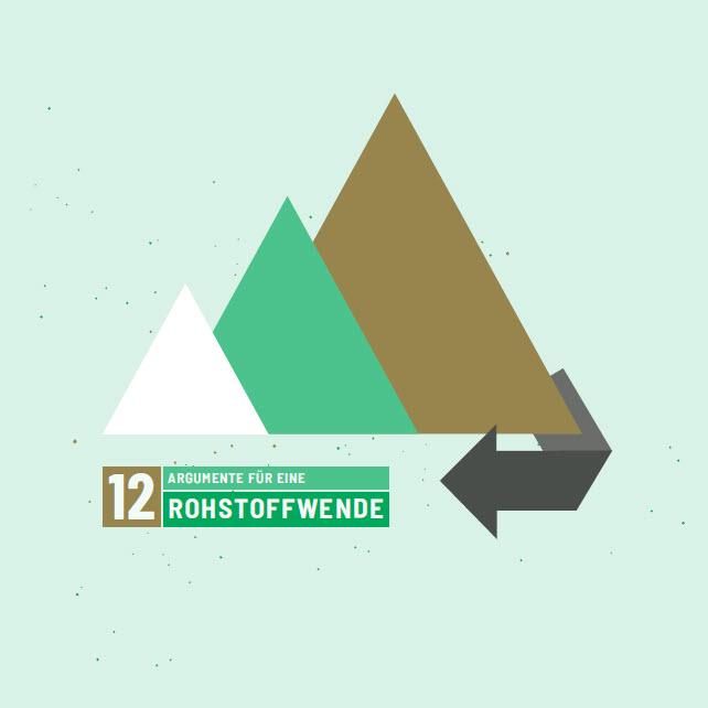 Titelseite Broschüre: 12 Argumente für eine Rohstoffwende. Quelle: ci-romero.de